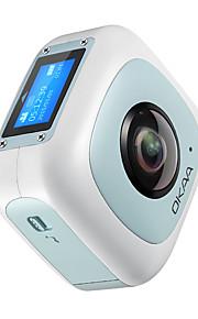 Other Plastic / Metaal Multifunctionele Camera 720P / 1080P / Groothoek / Waterdicht / Panorama / WIFI / Kantelbare LCD Zwart / Blauw 1.5
