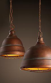 40W מנורות תלויות ,  מסורתי/ קלאסי / וינטאג' / רטרו / גס צביעה מאפיין for LED / מעצבים מתכתחדר שינה / חדר אוכל / מטבח / חדר עבודה / משרד