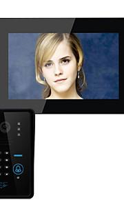 960*480 120 CMOS deurbelsysteem Draadloos Meergezins video deurbel
