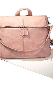 Women PU Casual / Outdoor / Shopping Backpack Beige / Pink / Gray / Black