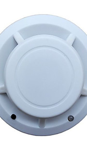 détecteur de fumée avec mode alarme sonore et lumineuse et une faible cmos de puissance microprocesseur et 9v alimentation de la batterie