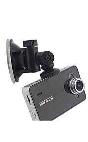 Koonlung 2,7 inch Ambarella / Syntec TF-kaart Zwart Auto Camera
