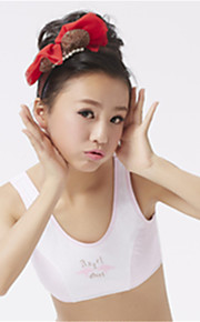 XLY Development Puberty Teenagers Girl's Comfortable Cotton Wireless Sports Bra Underwear. Item. Thin Cup Bra.Code 6010