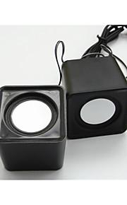 tung bas minihøjttaler usb multi farve lille højttaler