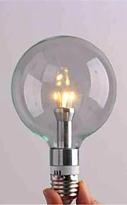 3 / 4 E26/E27 LED 글로브 전구 G95 3 SMD 3528 800 lm 따뜻한 화이트 / 차가운 화이트 장식 AC 220-240 V 1개