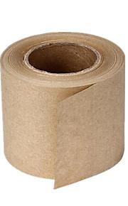 due 72 millimetri * 18mm ambientali nastri di carta kraft per confezione