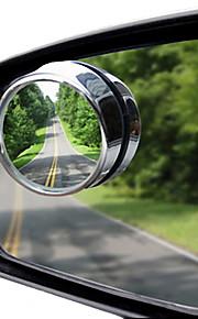 360 graden verstelbare aar van de kleine ronde spiegel extra spiegel blinde vlek groothoek lens