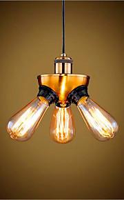 40 מנורות תלויות ,  סגנון חלוד/בקתה / וינטאג' / רטרו / גס Brass מאפיין for LED / סגנון קטן / מעצבים מתכתחדר שינה / חדר אוכל / מטבח / חדר