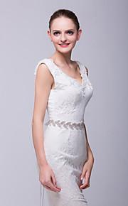 Satin Mariage Ceinture-Strass Femme 180cm Strass