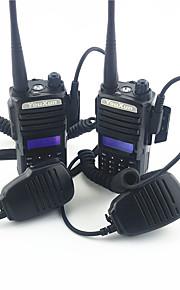 walkie-talkie militaire kwaliteit ultra-heldere geluidskwaliteit radio met zaklamp een paar van de jurk
