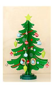 mellomstore tre juledekorasjoner juletre