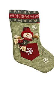 Joulukoristeet / Joululelut Lomatarvikkeet Joulupukki-asu / Lumiukko Tekstiili Harmaa Kaikki