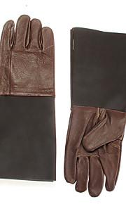 par Protección guantes de cuero piel de vaca a mano del guardameta reptil