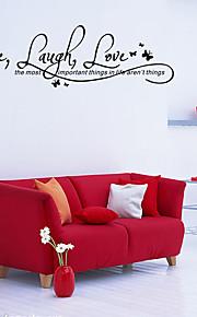 Ord & Citat Wall Stickers Väggstickers Flygplan Dekrativa Väggstickers,vinyl Material Kan tas bort Hem-dekoration vägg~~POS=TRUNC