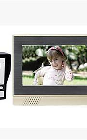 800*3(RGB)*480 120 CMOS Dørklokke System Trådløs Flerfamiliehuse video dørklokken