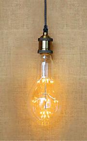 2W E26/E27 Ampoules Globe LED AR111 49 LED Dip 140 lm Blanc Chaud Décorative V 1 pièce