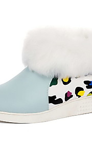 Women's Pull-on Low-Heels PU Assorted Color Low-top Boots