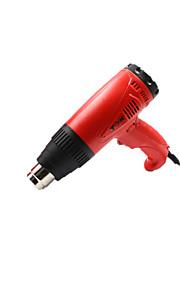tenuto in mano termostato caldo tipo pistola ad aria ad aria calda tipo di pistola il flusso d'aria digitale 250-500l / min