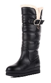 Women's Round Closed Toe Assorted Color Low Top High Heels Boots