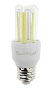 7W E26/E27 Ampoules Maïs LED T 6 COB 600 lm Blanc Froid Décorative V 1 pièce