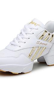 Zapatos de baile(Negro / Blanco) -Jazz / Zapatillas de Baile / Moderno-No Personalizables-Tacón Cuadrado