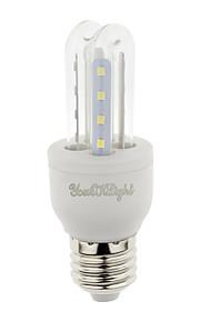 3W E26/E27 Ampoules Maïs LED T 16 SMD 2835 210 lm Blanc Chaud / Blanc Froid Décorative V 1 pièce