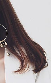 Boucle Sans pierre Boucles d'oreille goutte / Boucles d'oreille gitane / Boucle d'oreille Bijoux FemmeMariage / Soirée / Quotidien /