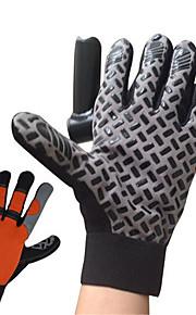 Guantes Deportivos Bicicleta Dedos completos TodoA prueba de resbalones / Mantiene abrigado / Listo para vestir / A Prueba de Golpes /