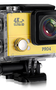 PRO4 Actiecamera / Sportcamera 20MP 4608 x 3456 WIFI / Verstelbaar / Draadloos / Groothoek 30fps Neen ± 2EV Neen CMOS 32 GB H.264Enkele