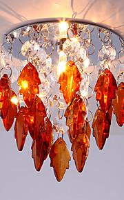 Plafonieră Cristal / LED / Stil Minimalist 1 bc