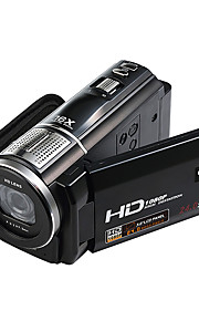 Videokamera 1080P Video Udgang Anti-Chock Smile Detektor Touchscreen Vipbar LCD Sort