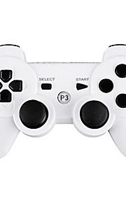 Draadloze DualShock 3-controller, voor Playstation 3/PS3 (wit)