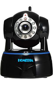homedia 1080p 2.0MP fuld hd ip kamera trådløs p2p dag / nat vision tovejs audio mobil visning (Android / iPhone)