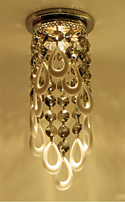 Acrylic Hanging Pendant Luxe Crystal Chandelier for Recessed Light