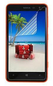 (3 st) professionella högupplösta skärmskydd med rengöringsduk för Nokia 625