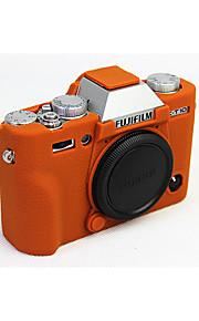 Digitale Camera-Hoes- voorFujifilm-Eén-schouder- metStofbestendig-Zwart Koffie Bruin