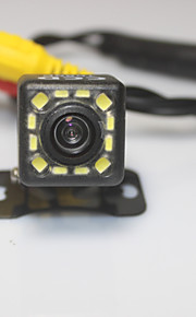Parkeringshjælp-system bil bakkamera 1080p 12 førte ccd hd ede vende universel backup kamera vandtæt nattesyn