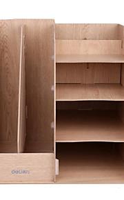 מסגרת אחסון רבה תכליתית עץ קובץ מסגרת שולחן עבודה בשילוב