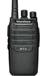 Wanhua HTD palmare walkie-talkie UHF 403-470mhz radio bidirezionale