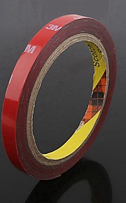 ziqiao bil styling 10mm bil lastbil 3m tape dobbeltsidet akryl skum tape bilindustrien 3 meter lang