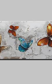 手描きの 抽象画 動物 油彩画,Modern 欧風 1枚 キャンバス ハング塗装油絵 For ホームデコレーション