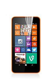 hög transparens hd lcd skärmskydd för Nokia 635 (3 st)