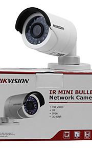 hikvision® 4.0 mp bullet outdoor 30m ir (waterdichte dag en nacht bewegingsdetectie dual stream) DC12V & poe