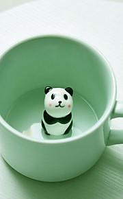 Мультяшная тематика Вечеринка Стаканы, 230 ml Украшение Подруга Gift Керамика Чайный Сок Каждодневные чашки / стаканы