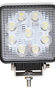 27w 6000k led bianco auto faretti auto trattore fendinebbia camion della lampada della testa della luce del lavoro di moto su strada hanno