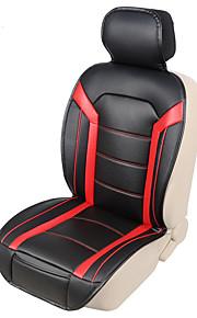 autoyouth mode luksus pu læder bil sædehynder 1stk høj komfort sædebetræk det farvede syninger mønster bil-styling