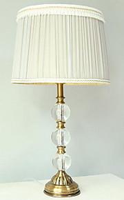 40 Tradicional/ Clássico Luminária de Escrivaninha , Característica para Cristal , com Outro Usar Interruptor On/Off Interruptor