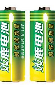 Shuanglu 8 alkaline batterijen 1,5 V voor het draaien via de elektronische pen 2 verpakkingen