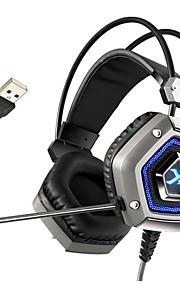 xiberia x13 pro usb 7.1 sourround stero gaming koptelefoon annuleren nosie computer pc gamer zware bas headset met microfoon geleid