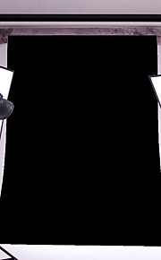 3x5ft sort tynd vinyl fotografering baggrund studio prop foto baggrund